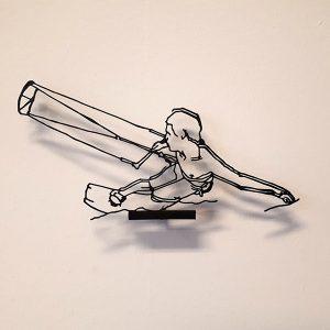 Kitesurfer 3D printed